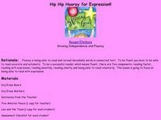 Hip Hip Hooray for Expression!! Lesson Plan