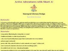 Active Adventures with Short A! Lesson Plan