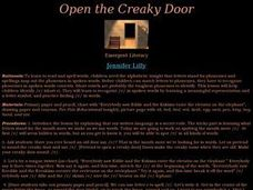 Open the Creaky Door Lesson Plan