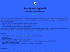 B-b-bouncing Ball Lesson Plan