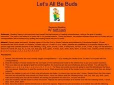Let's All Be Buds Lesson Plan