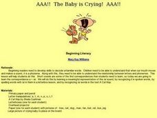AAA!! The Baby is Crying! AAA!! Lesson Plan