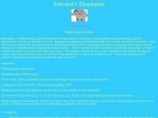 Edward's Elephants Lesson Plan