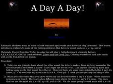 A Day A Day! Lesson Plan