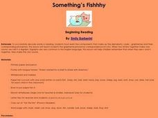 Something's Fishhhy Lesson Plan