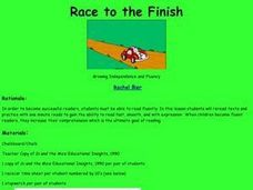 Race to the Finish Lesson Plan
