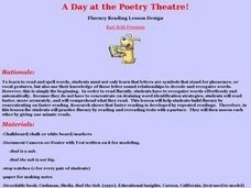 A Day at the Poetry Theatre! Lesson Plan