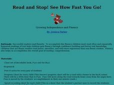 Read and Stop! See How Fast You Go! Lesson Plan