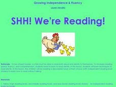 SHH! We're Reading! Lesson Plan