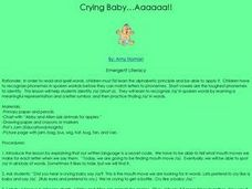 Crying Baby.....Aaaaaa! Lesson Plan