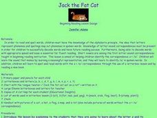 Jack the Fat Cat Lesson Plan