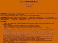 Fuzz and the Buzz Lesson Plan
