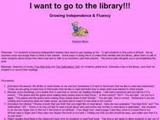 I Want To Go To the Library Lesson Plan