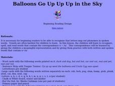 Balloons Go Up Up Up in the Sky Lesson Plan