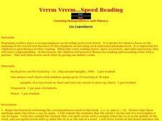 Speed Reading Lesson Plan
