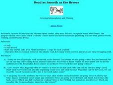 Read as Smooth as the Breeze Lesson Plan