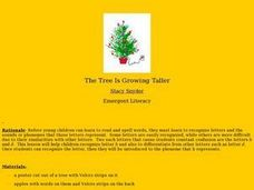 The Tree Is Growing Taller Lesson Plan