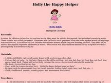 Holly the Happy Helper Lesson Plan