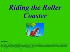 Riding the Roller Coaster Lesson Plan