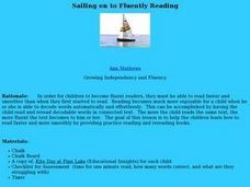 Sailing on to fluently reading Lesson Plan