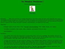 No Monkey Business - Expressive Reading Lesson Plan