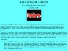 Let's Be Silent Readers! Lesson Plan