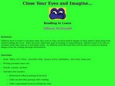 Close Your Eyes and Imagine... Lesson Plan