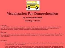 Visualization For Comprehension Lesson Plan