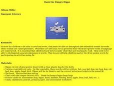 Hank the Hungry Hippo Lesson Plan