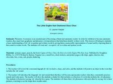 The Little Engine that Chattered Choo Choo Lesson Plan