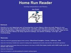 Home Run Reader Lesson Plan