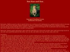Dan Ran and Ran Lesson Plan
