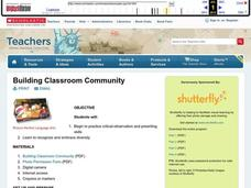 Building Classroom Community Lesson Plan