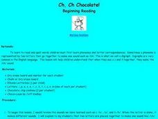Ch, Ch Chocolate! Lesson Plan