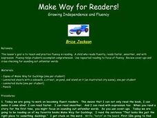 Make Way for Readers Lesson Plan