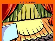 3, 2, 1...Action! Lesson Plan