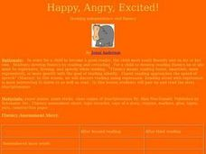 Happy, Angry, Excited! Lesson Plan