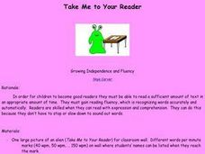 Take Me to Your Reader Lesson Plan