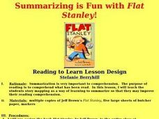 Summarizing is Fun with Flat Stanley! Lesson Plan