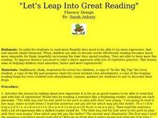 Let's Leap Into Great Reading Lesson Plan