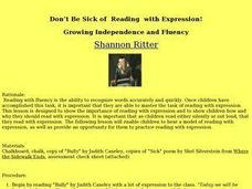 Don't Be Sick of Reading with Expression! Lesson Plan
