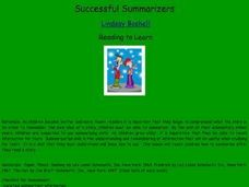 Successful Summarizers Lesson Plan