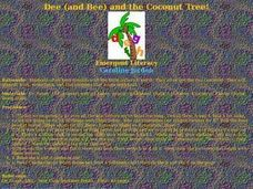 Dee and Bee and the Cocunut Tree! Lesson Plan