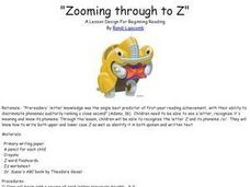 Zooming Through to Z Lesson Plan