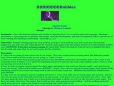 BBBubbles Lesson Plan