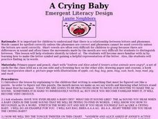 A Crying Baby Lesson Plan