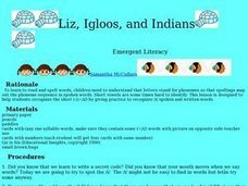 Liz, Igloos, and Indians Lesson Plan