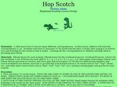Hop Scotch Lesson Plan