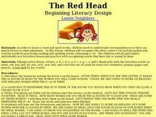 The Red Head Lesson Plan
