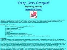 Ozzy, Ozzy Octopus! Lesson Plan
